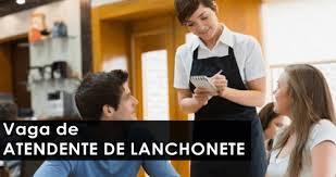 Atendente de Lanchonete