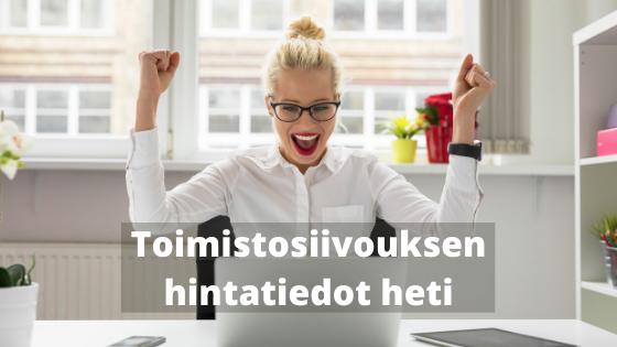 Mitä 150 neliön toimistosiivous maksaa Tampereella?