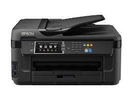 bring electricity saving printer that tin impress a lot of documents upwards to Influenza A virus subtype H5N1 EPSON WorkForce WF-7611 Printer Driver Download