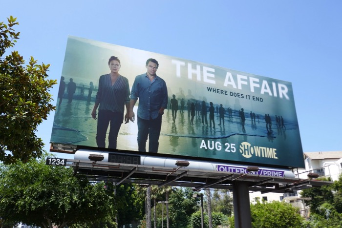 Affair final season Showtime billboard