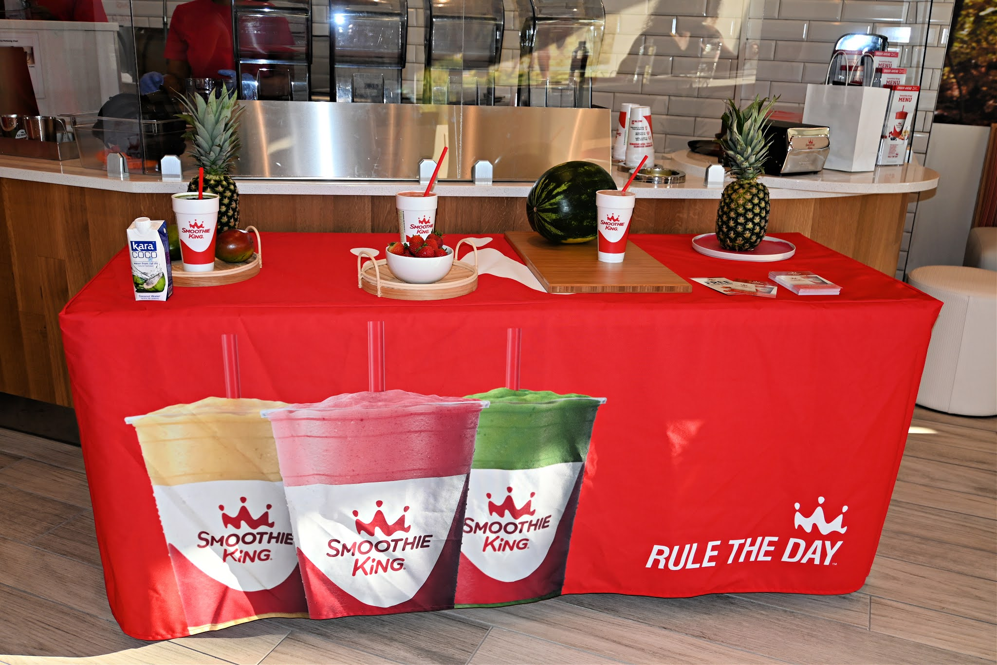 Trying out the New Clean Blend Smoothies at Smoothie King