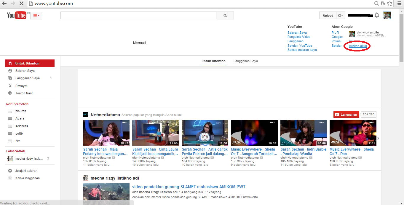 gambar buat banyak channel di youtube