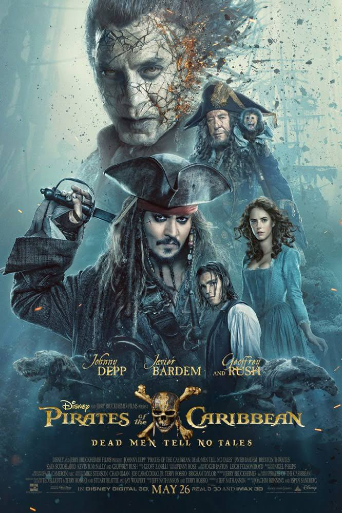 Action , Drama , Adventure , Movie , HD , 2017 , Pirates of the Caribbean: Dead Men Tell No Tales
