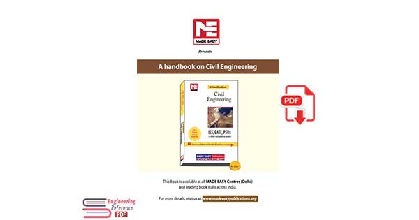 A Handbook on Civil Engineering For Contains Well Illustrated Formulae & Key Theory Concepts & Other Competitive exams