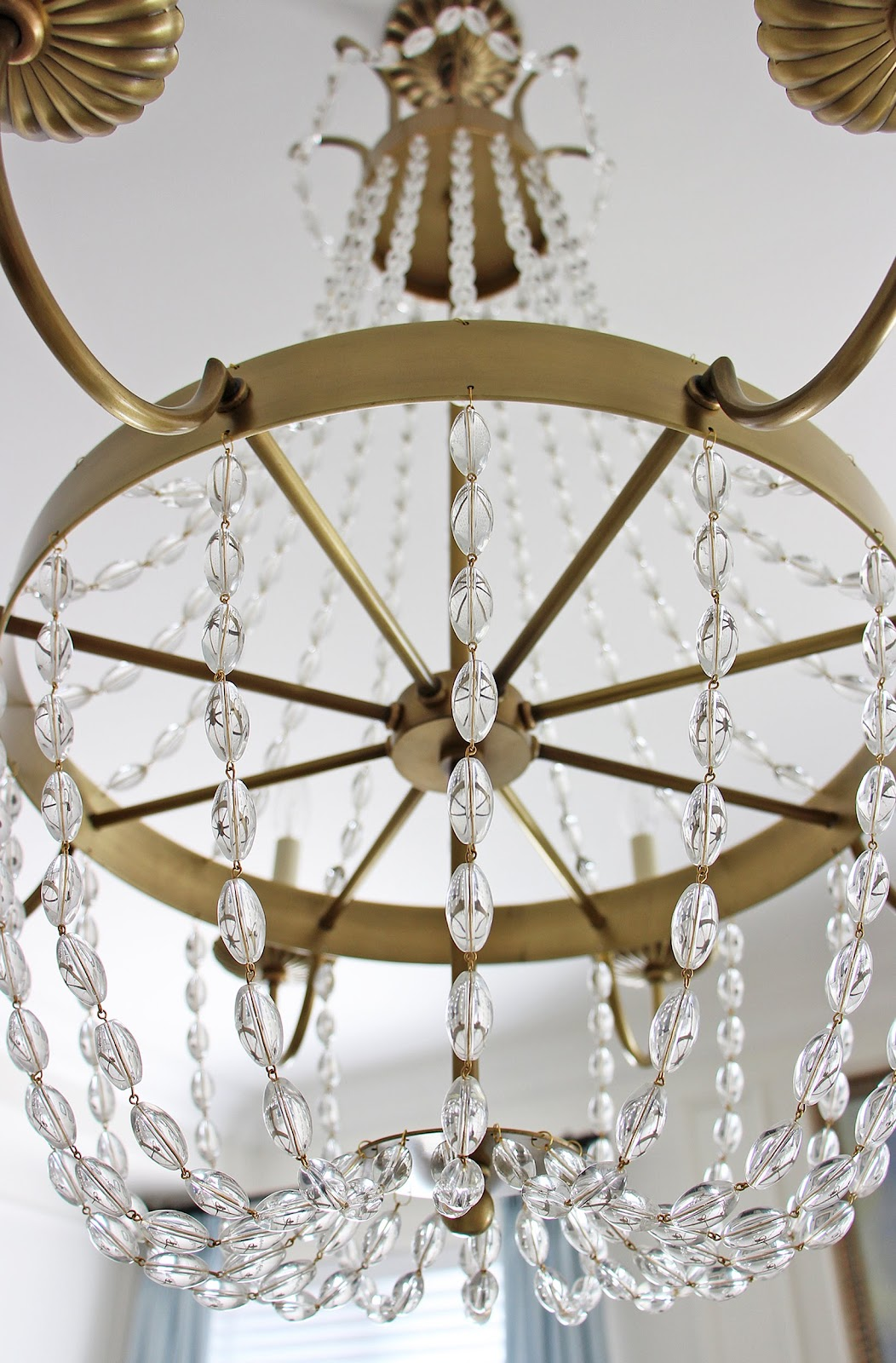 Am Dolce Vita Popcorn Ceiling Removal And A New Chandelier