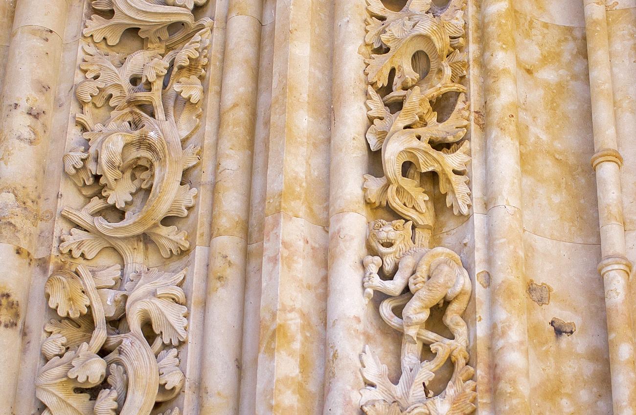 dragon helado catedral salamanca