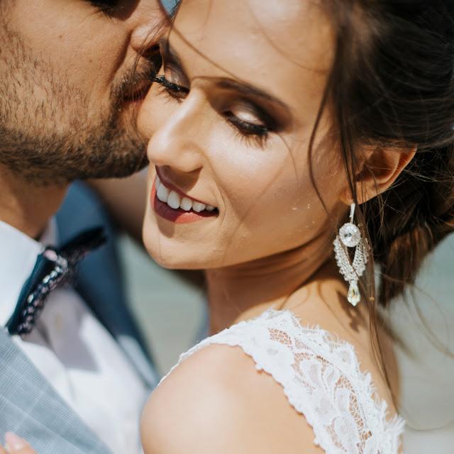 kolczyki ślubne