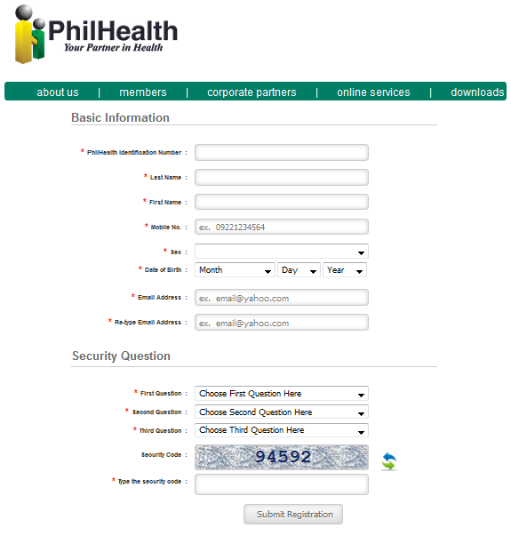philhealth online inquiry