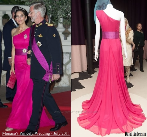 Crown Princess Mary wore David Andersen gown