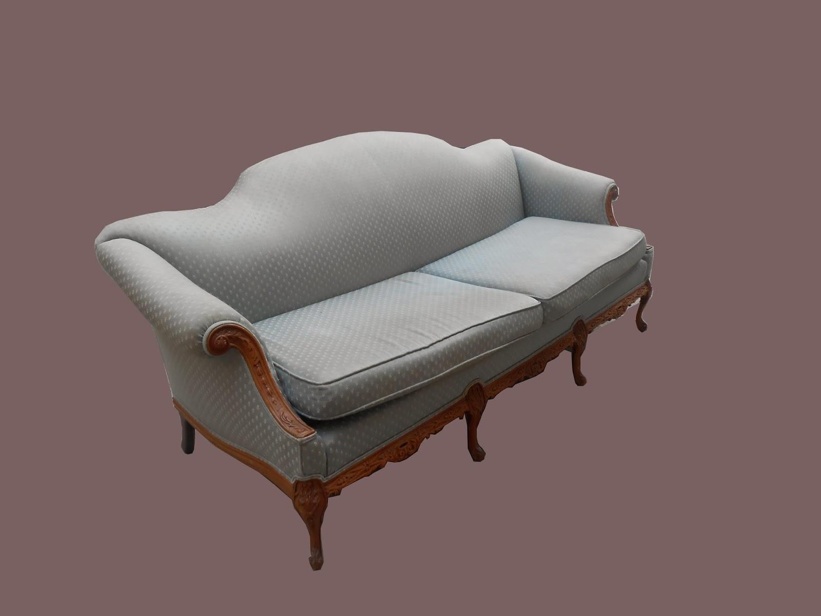 Peachy Uhuru Furniture Collectibles Blue Chippendale Sofa Sold Machost Co Dining Chair Design Ideas Machostcouk