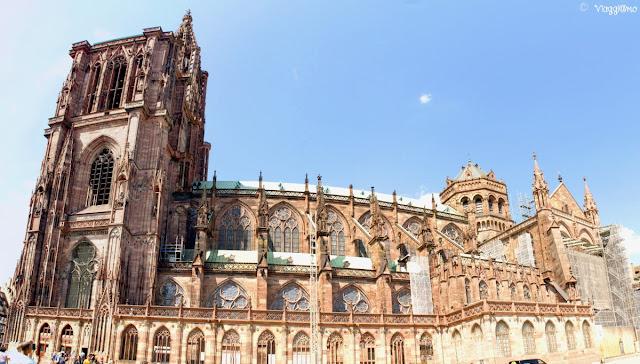 Panoramica della Cattedrale di Strasburgo