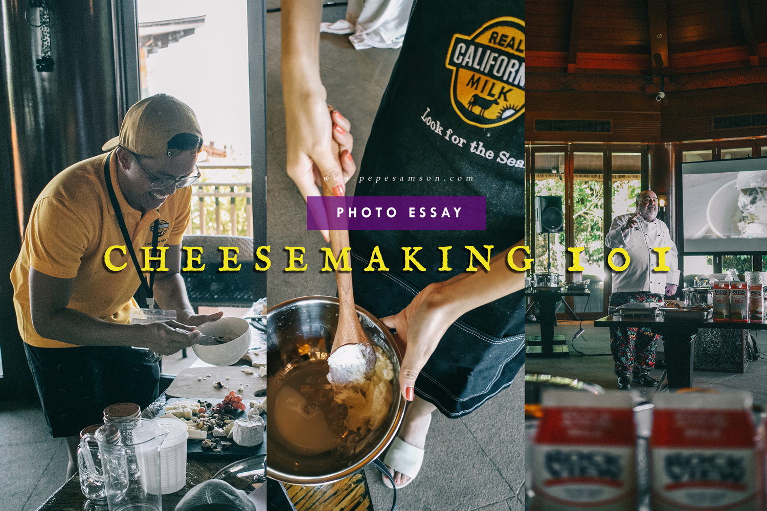 IN PHOTOS: Cheesemaking Workshop in Boracay