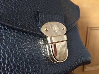 Mulberry Polly Pushlock Tote detail