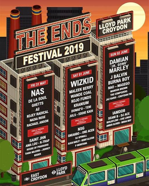 The Ends Festival (Lloyd Park Croydon)