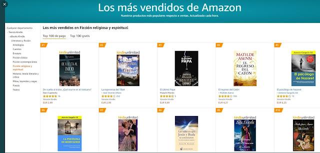 Best Seller Ficción Religiosa