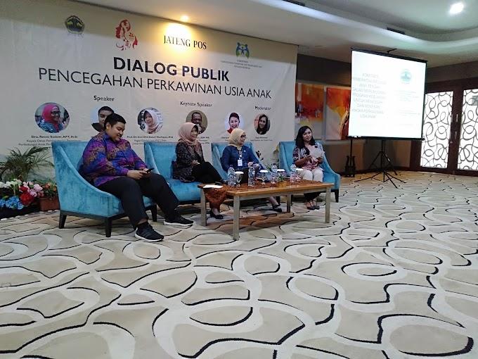 Dialog Publik : Pencegahan Pernikahan Usia Anak