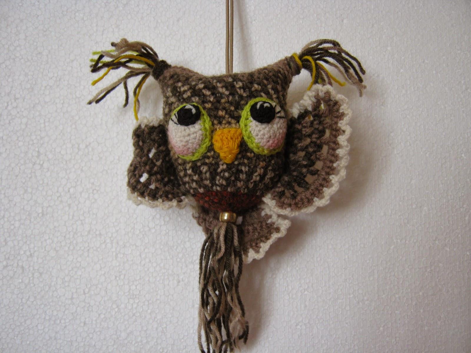 Вязаная сова