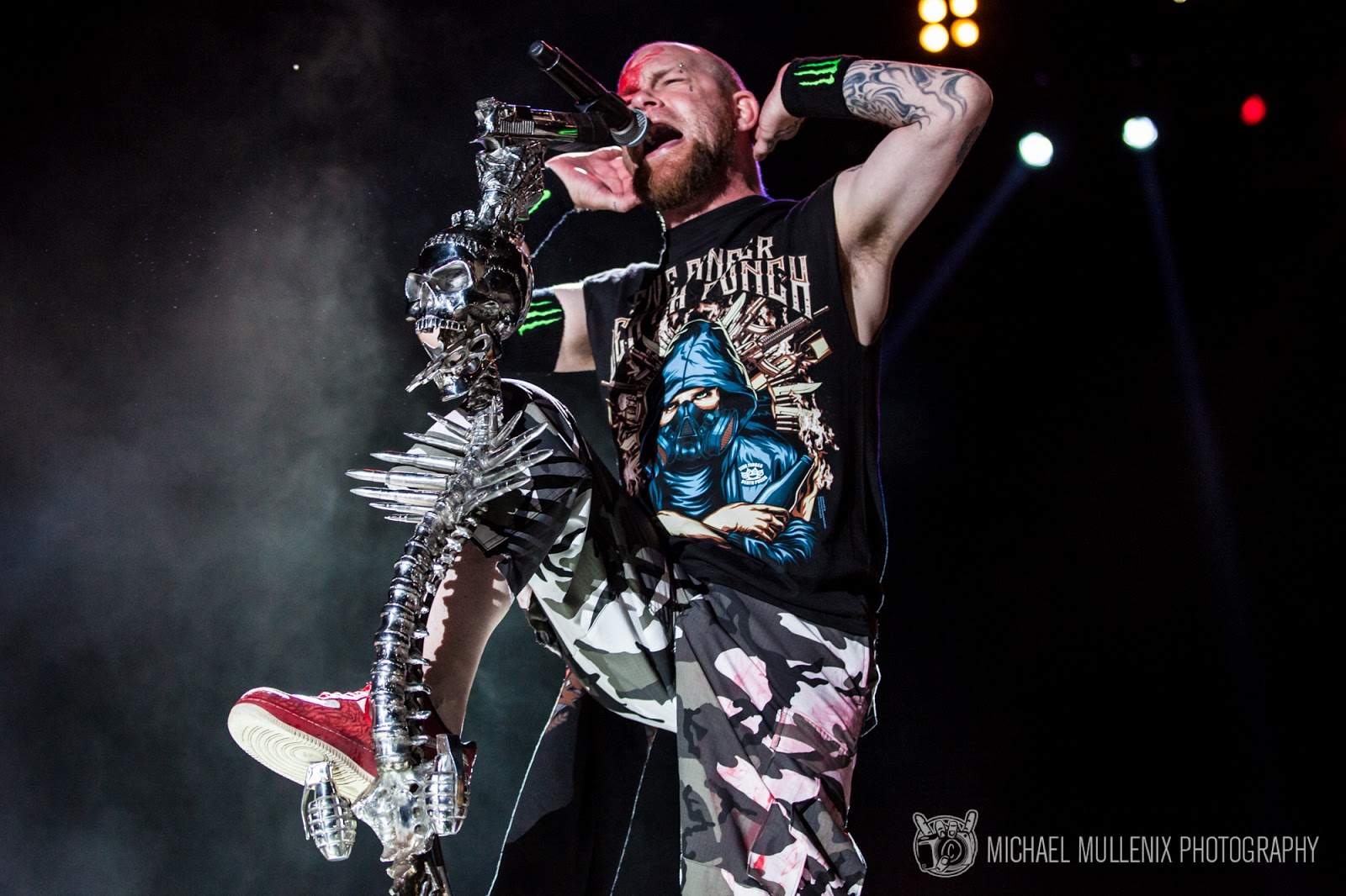 FIVE FINGER DEATH PUNCH AT ROCK USA 2016 - PHOTO GALLERY BY MICHAEL ...