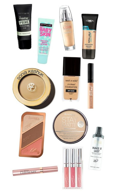 #MAKEUPMONDAY summer drugstore makeup routine