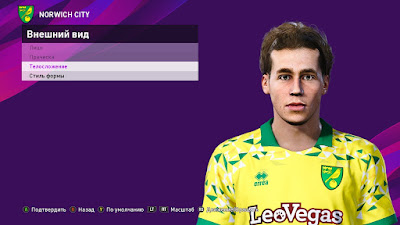 PES 2020 Faces Todd Cantwell by Lakum