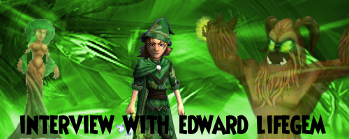 Interview with Edward Lifegem   Tales of the Spiral