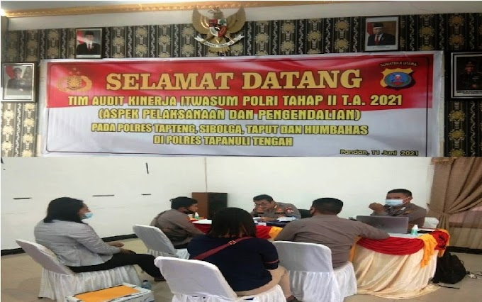 Audit Kinerja Itwil II Itwasum Polri; Tahap II TA 2021, Aspek Pelaksanaan & Pengendalian