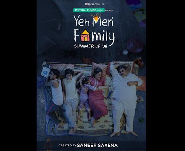 Yeh Meri Family hindi web series poster