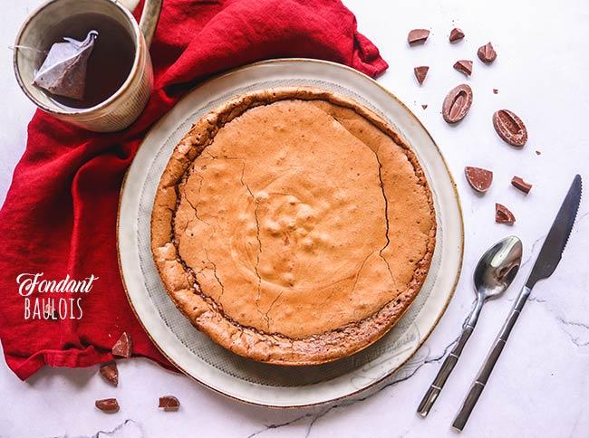 recette fondant baulois chocolat