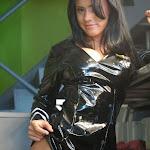Andrea Rincon, Selena Spice Galeria 5 : Vestido De Latex Negro Foto 124