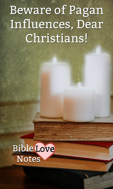 There are many popular occult and pagan practices in our culture. This 1-minute devotion describes them and explains why it's best to stay away from them. #BibleLoveNotes #Bible