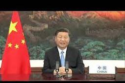 Inilah Pidato Presiden Republik Rakyat Tiongkok, Xi Jinping Saat Debat Umum PBB ke 75