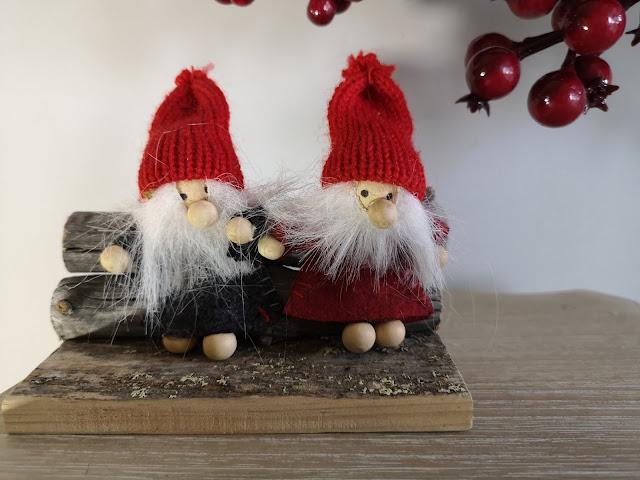 Adorno gnomos Navidad