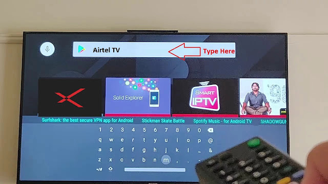 airtel xstream for android tv