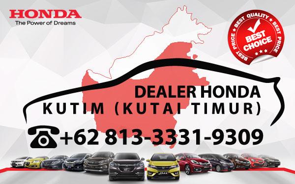 Dealer Honda Kutai Timur - Daftar Harga OTR, Cash Kredit Mobil Baru
