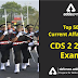 Top 50 Current Affairs for CDS 2  Exam 2019