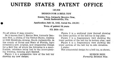 Bell Toy Patent
