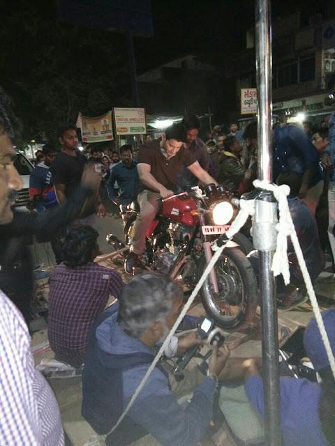 Mahesh babu - Murugadoss Movie Latest Working Stills