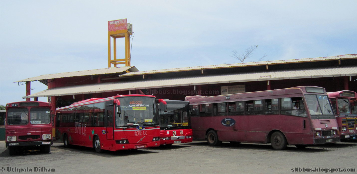 Sltb Bus Stand Moartuwa