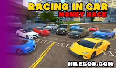 racing in car 2021 money hack hileli apk mod indir