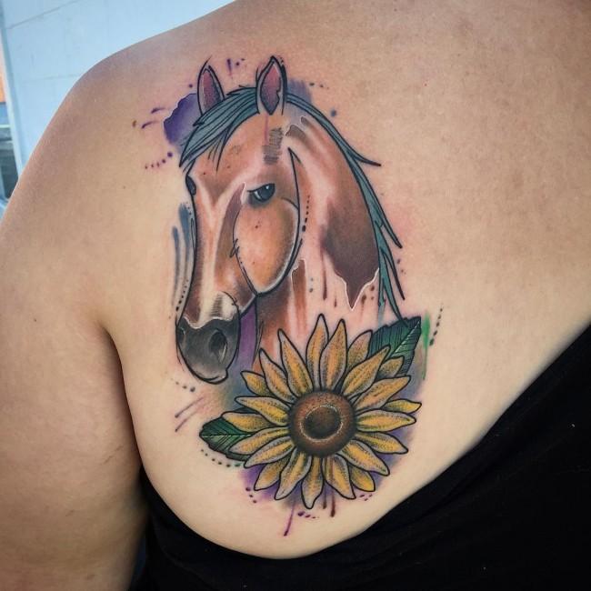 Tatuajes De Caballos Para Mujeres Y Su Significado Belagoria La