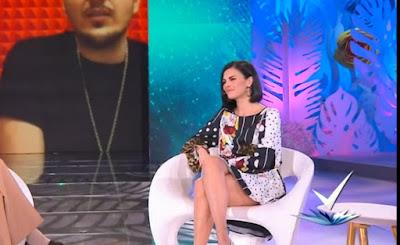 Bianca Guaccero abbigliamento vestito Detto Fatto 15 marzo
