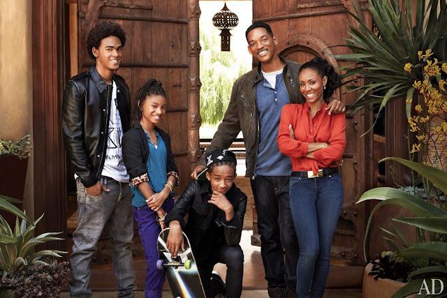 will smith family photo