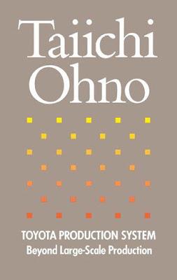 Buchcover von Taiichi Ohno Toyota Production Management
