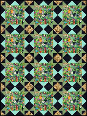 Delightful Stars pattern Sew Joy Creations