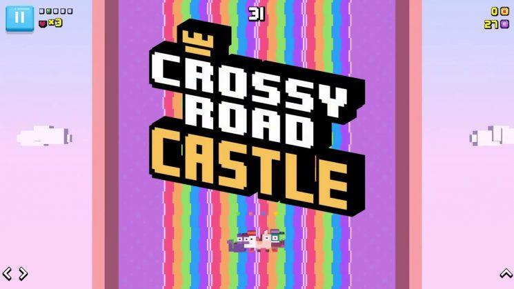 Crossy Road Castle coming Apple Arcade