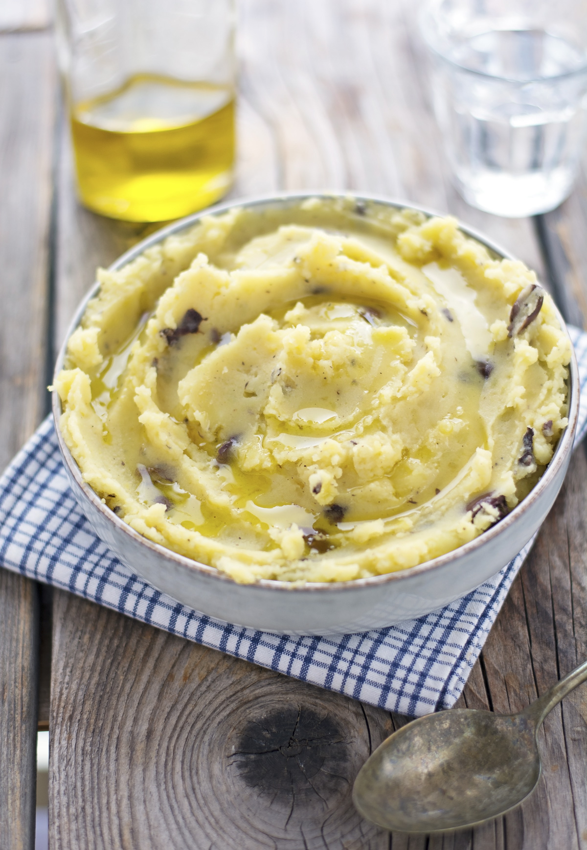 (Vegan) Olive Oil Mashed Potatoes
