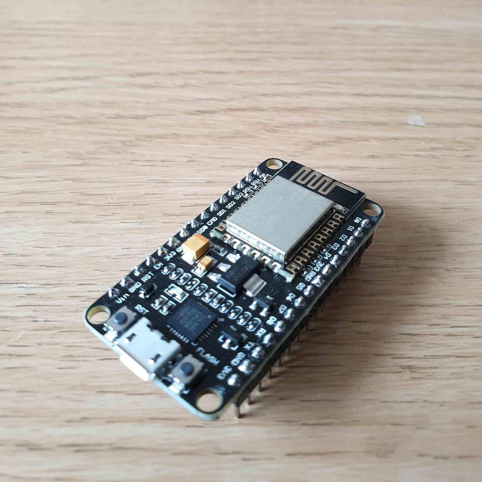 Using the NodeMCU ESP-12E board with Arduino, MicroPython