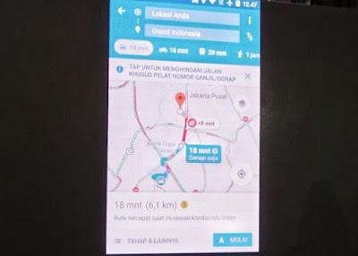 Fungsi Baru Google Maps Bisa di Gunakan untuk Hindari Jalur Ganjil-Genap