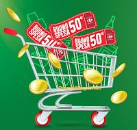 Logo Da Carrefour ''Dal Meglio il Meglio 2017'': vinci 57 buoni spesa da 50€