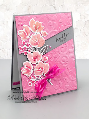 Hello There!  I have a super cute card for you today using the Art Gallery and Sweet Strawberry Stamp Sets and a little color inspiration.  Click here